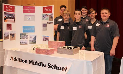Students present architecture project