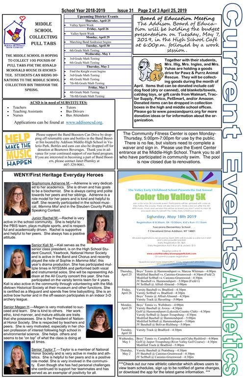 ACSD Newsletter - Issue 31