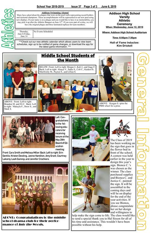 ACSD Newsletter - Issue 37