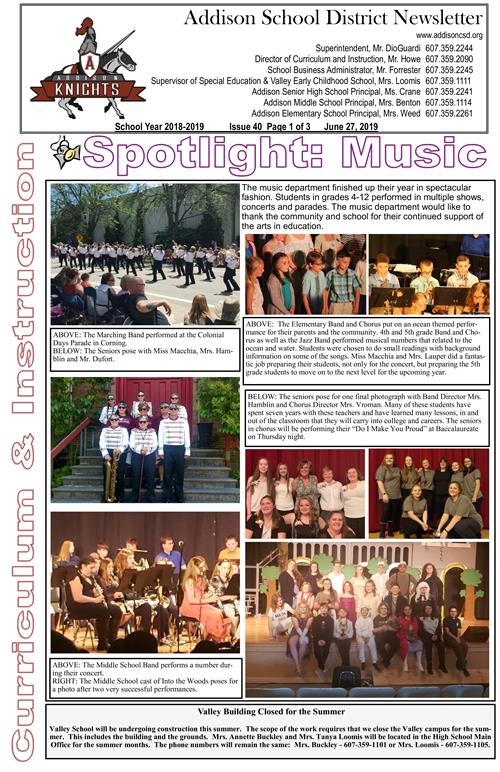 ACSD Newsletter - Issue 40