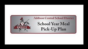 School Year Meal Pick Up Plan